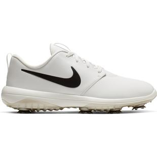 Men's Roshe G Tour Spiked Golf Shoe - White/Black