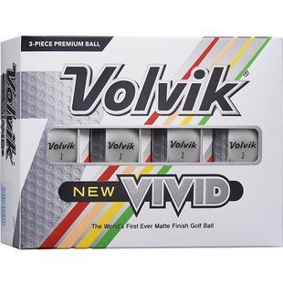 Vivid Golf Balls - White