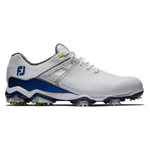 Men's Tour X Spiked Golf Shoe - White/Blue