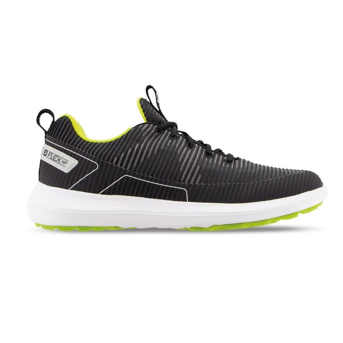 Men's Flex XP Spikeless Golf Shoe - Black/Green