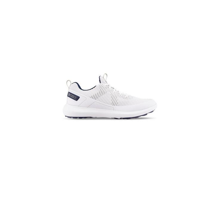 Men's Flex XP Spikeless Golf Shoe - White/Navy