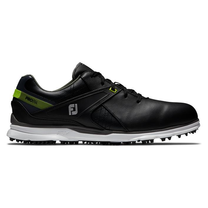Men's Pro SL Spikeless Golf Shoe - Black/Green