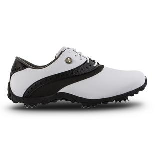 Women's LOPRO Spiked Golf Shoe - White/Black