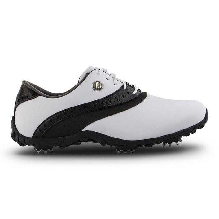 Chaussures LOPRO à crampons pour femmes - Blanc/Noir