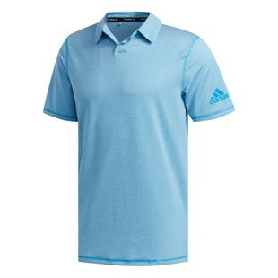 Men's Primeblue Striped Short Sleeve Polo