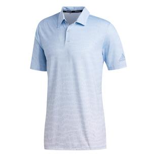 Men's Primeblue Blocked Short Sleeve Polo