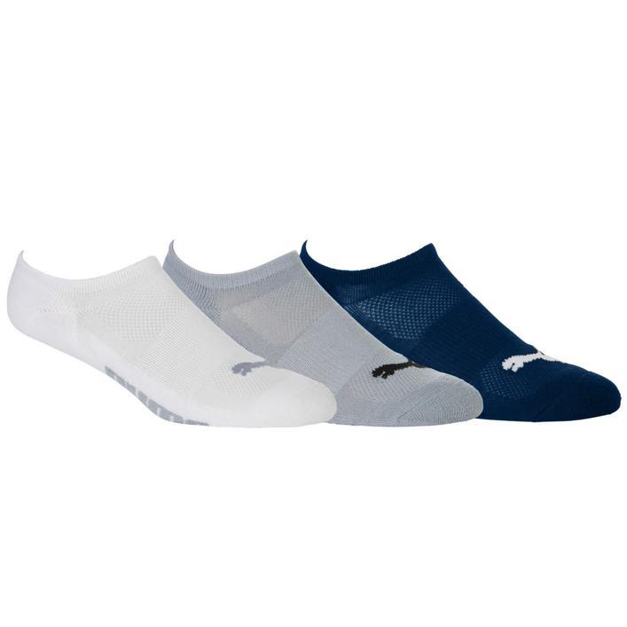 Men's No Show Socks - 3 Pack