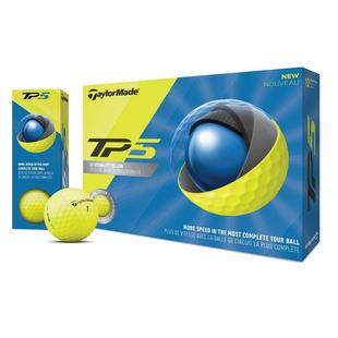 Prior Generation TP5 Yellow Golf Balls
