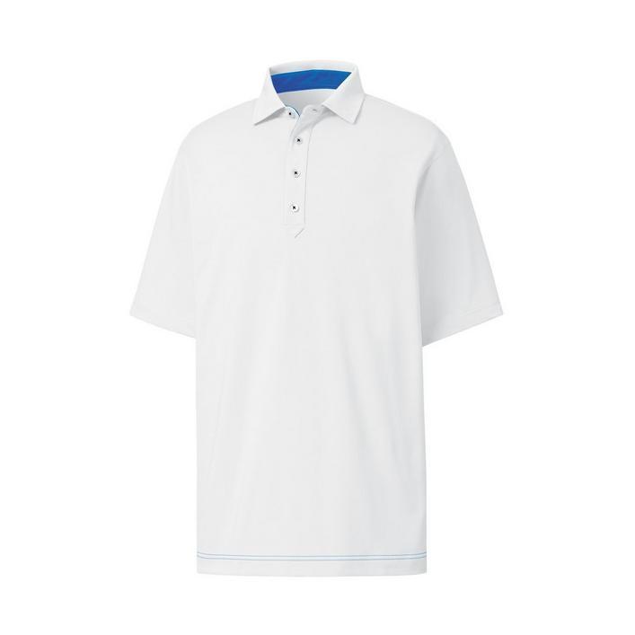 Men's Lisle Solid Short Sleeve Polo