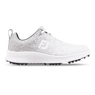 Women's Leisure Spikeless Golf Shoe - White/Grey