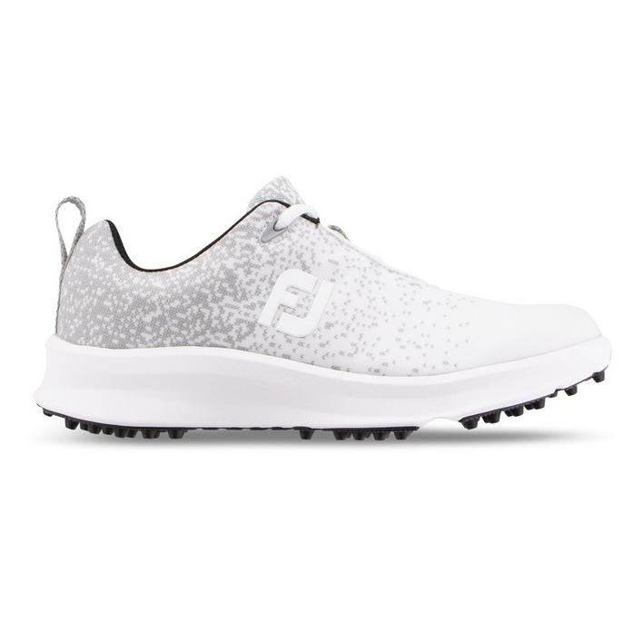 Women's Leisure Spikeless Golf Shoe - White/Grey