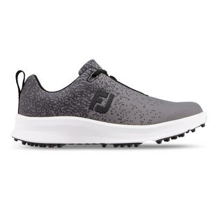 Women's Leisure Spikeless Golf Shoe - Black/Dark Grey