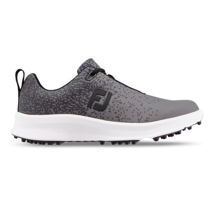 Women's Leisure Spikeless Golf Shoe - Black/Dark Grey