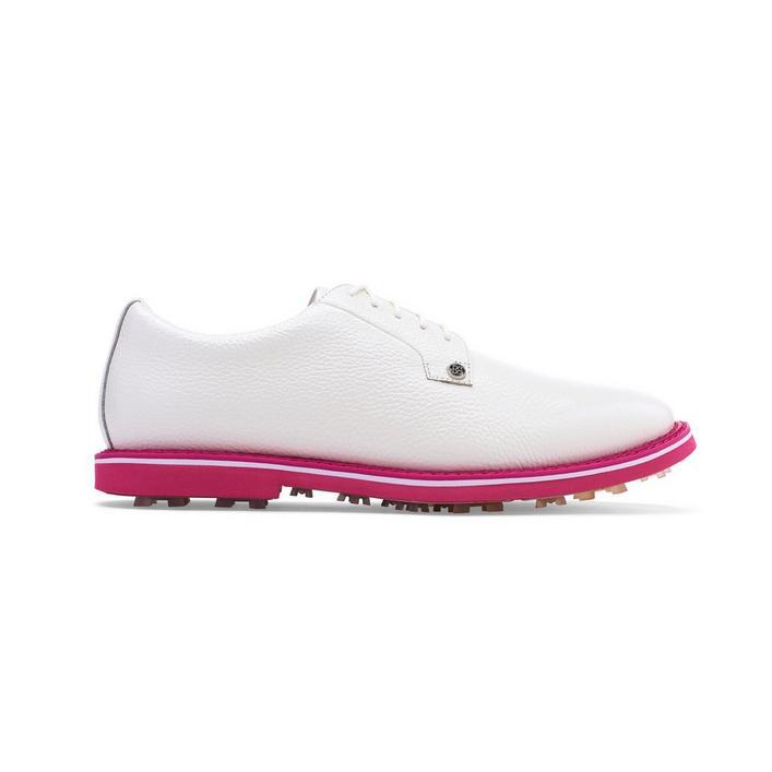 Chaussures Seasonal Gallivanter sans crampons pour hommes - Blanc/Rose (Édition limitée)