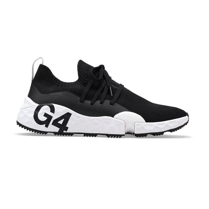 Chaussures MG4.1 sans crampons pour hommes - Noir/Blanc