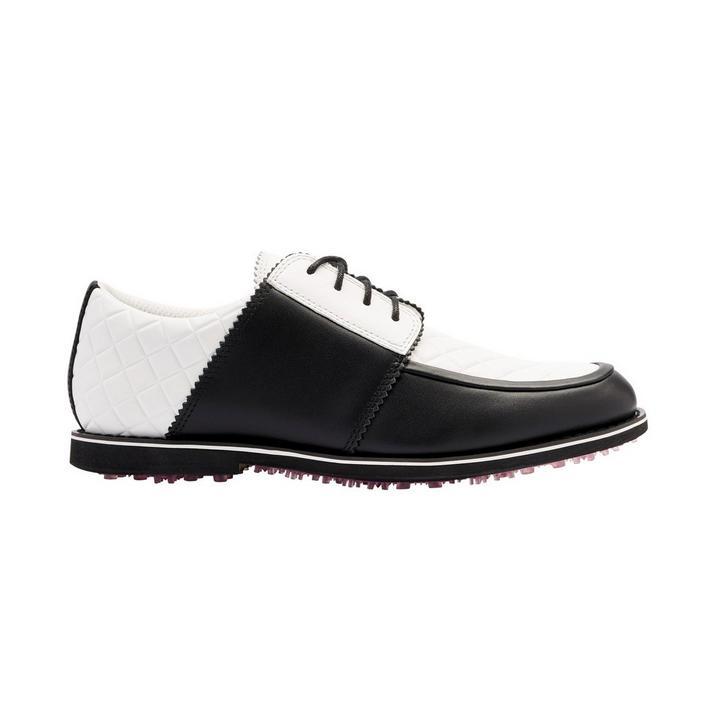 Women's Quilted Gallivanter Spikeless Golf Shoe - Black