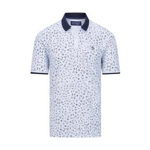 Men's Clubhouse Printed Short Sleeve Polo