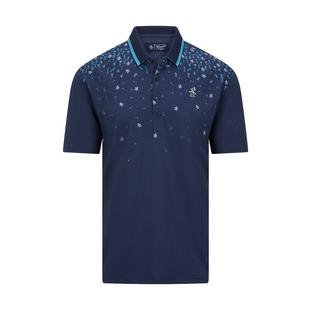 Men's Happy Hour Printed Short Sleeve Polo