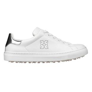 Women's Disruptor  Spikeless Golf Shoe - White/Silver
