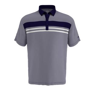 Men's Birdseye Colourblock Short Sleeve Polo