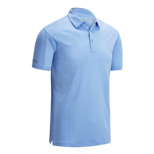 Men's Jacquard Short Sleeve Polo