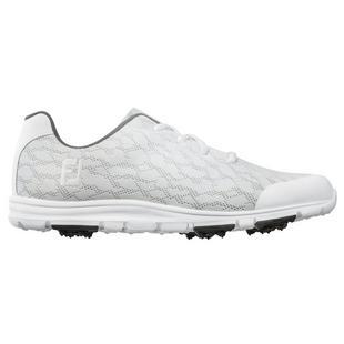 Women's Enjoy Spikeless Golf Shoe - White/Grey