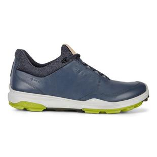 Men's Goretex Hybrid Biom 3 Spikeless Golf Shoe - Blue/Green