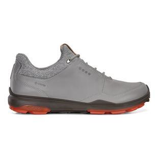 Chaussures Goretex Hybrid 3 sans crampons pour hommes - Gris/Rouge