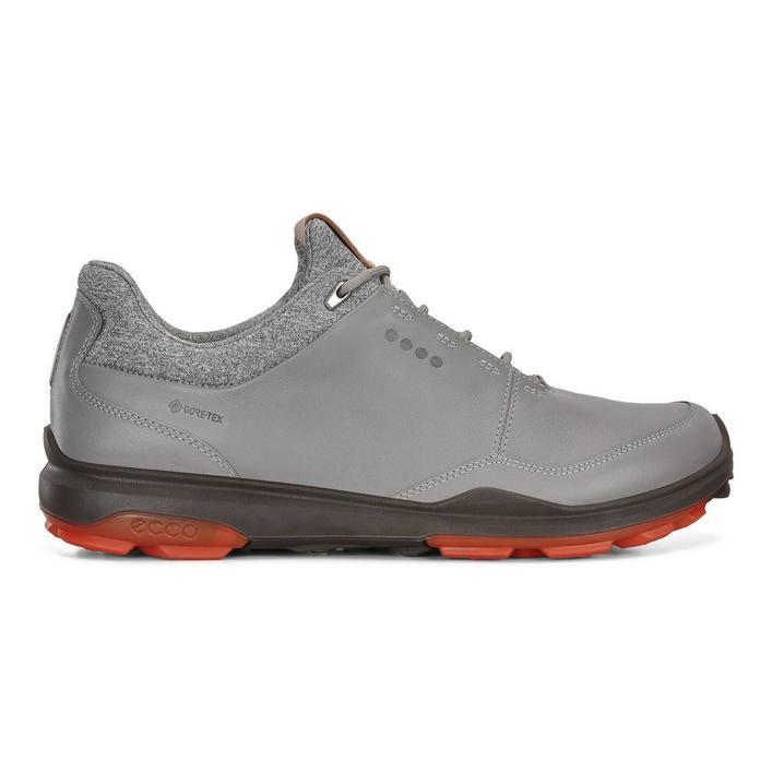 Men's Goretex Hybrid Biom 3 Spikeless Golf Shoe - Grey/Red