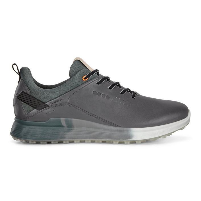 Chaussures Goretex S-Three sans crampons pour hommes - Gris