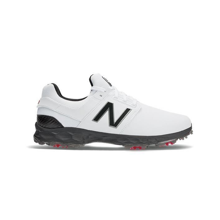 Chaussures Fresh Foam Links Pro à crampons pour hommes - Blanc/Noir