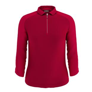 Women's Shadow Stripe 3/4 Sleeve Polo
