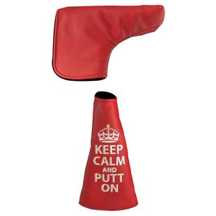 Keep Calm and Putt On Blade Putter Headcover
