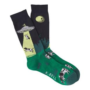 Men's UFO Abduction Crew Sock