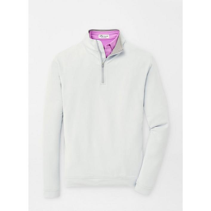 Men's Perth Stretch Loop Terry Quarter-Zip Sweater
