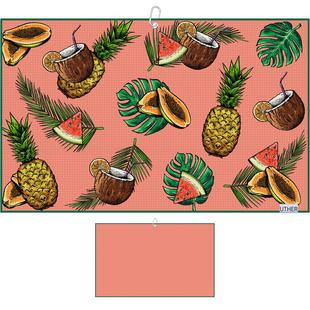 Tropical Holiday Microfiber Cart Towel