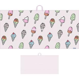 Ice Cream Drip Microfiber Tour Towel