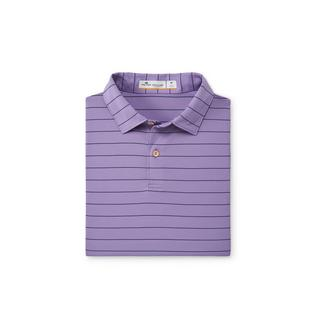 Men's Striped Featherweight Short Sleeve Polo