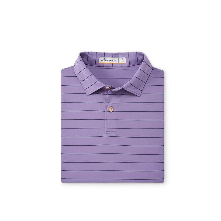 Polo Featherweight rayé pour hommes