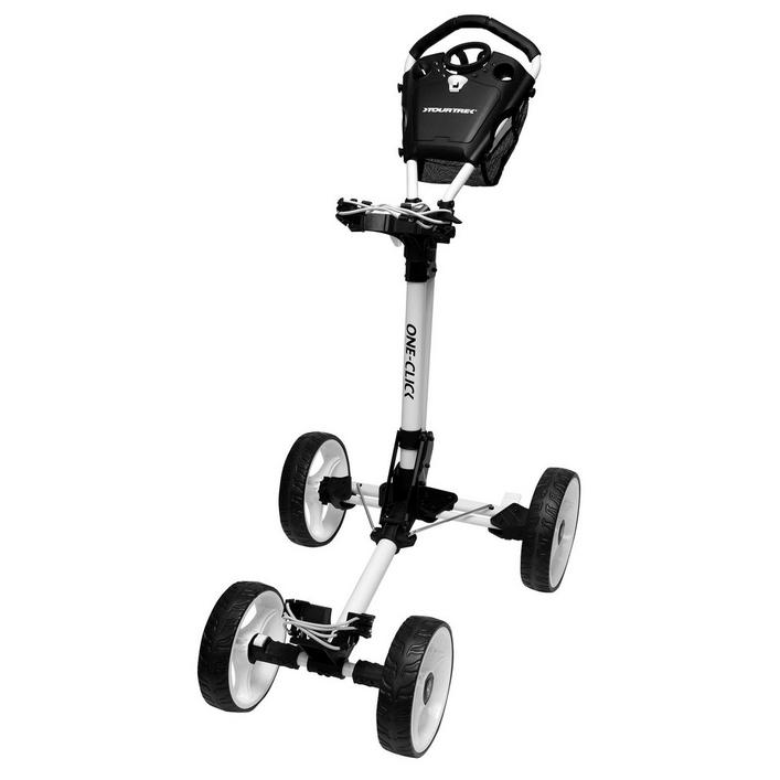 4 Wheel One Click Push Cart