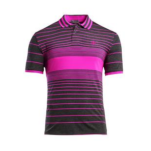 Men's Centre Stripe Short Sleeve Polo