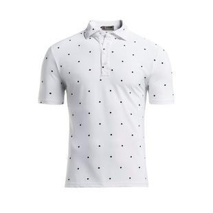 Men's Dots Short Sleeve Polo