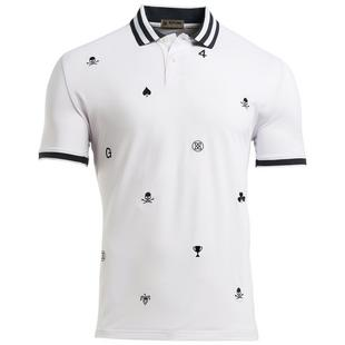 Men's Skull Embroidered Polo