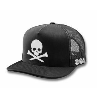 Men's Skull Trucker Cap