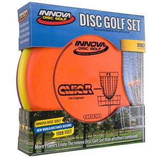 Ensemble Disc Golf DX Spacesaver (3 disques)