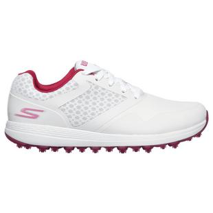 Women's Go Golf Max  Spikeless Shoe - White/Pink