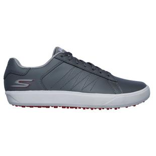 Men's Go Golf Drive 4 Spikeless Shoe - Grey/Red