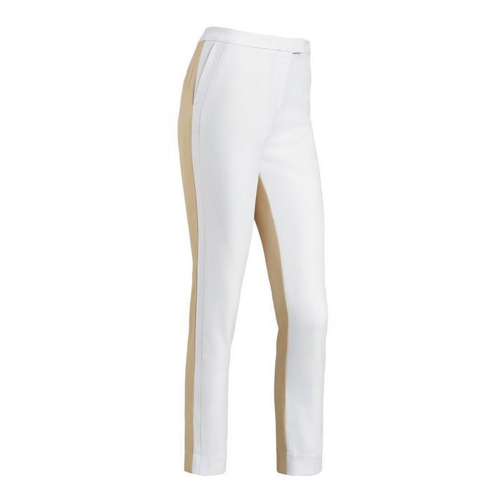 Pantalon à blocs de couleurs pour femmes