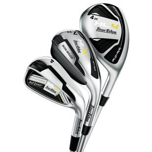 Women's HL4 4H 5H 6IW 7IW 8-PW Triple Combo Iron Set with Graphite Shafts