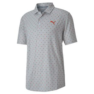Men's Cloudspun Scatter Short Sleeve Polo